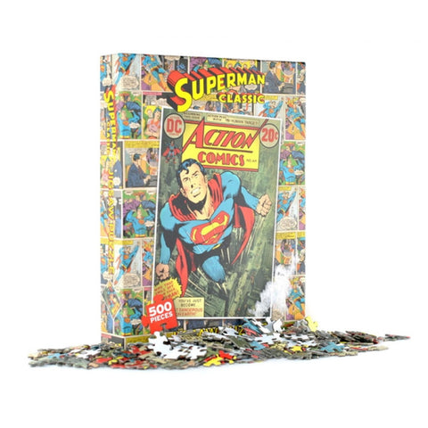 Superman Classic 500 Piece Jigsaw Puzzle