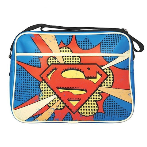 Superman Retro Messenger Bag