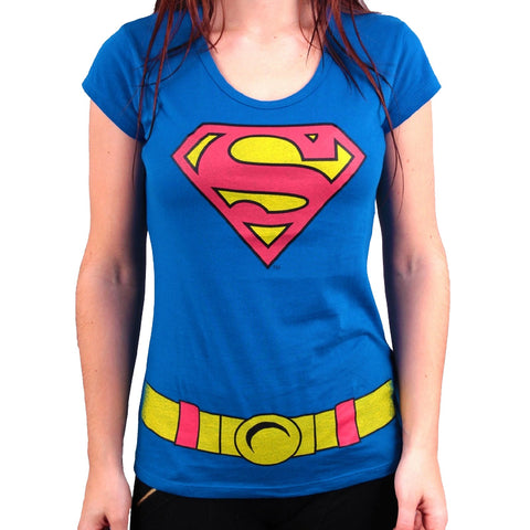Superman Girls Costume T-Shirt