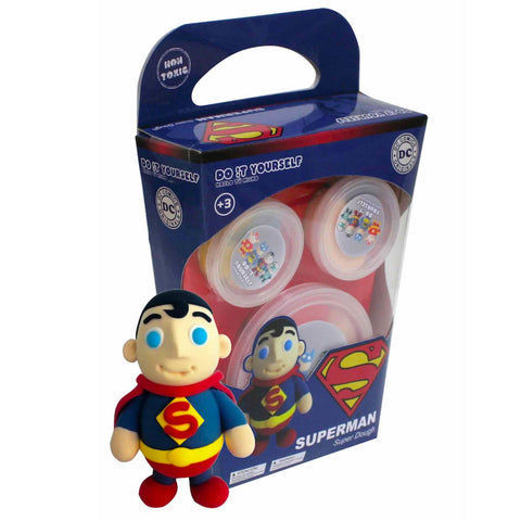 DC Comics Superman Super Dough DIY Kit