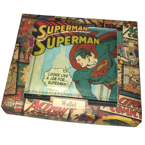 DC Comics Vintage Superman Wallet
