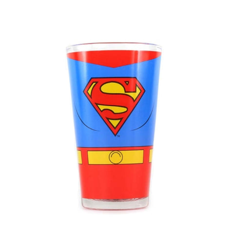 DC Comics Superman Glass