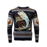 Star Wars Millennium Falcon Escape Knitted Christmas Jumper / Sweater