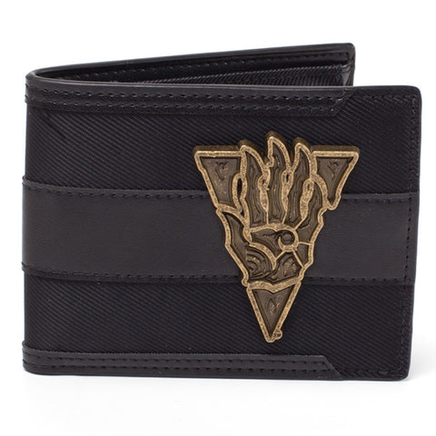 The Elder Scrolls III Morrowind Metal Badge Bi-Fold Wallet