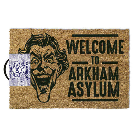 DC Comics The Joker Welcome to Arkham Coir Doormat