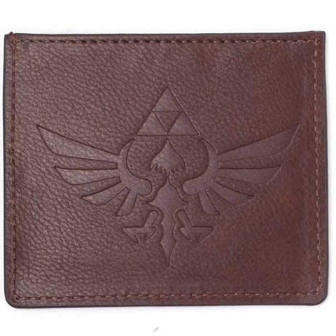 The Legend of Zelda Leather Wingcrest Card Wallet