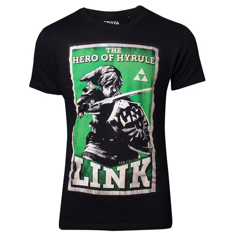 The Legend of Zelda Link Propaganda T-Shirt