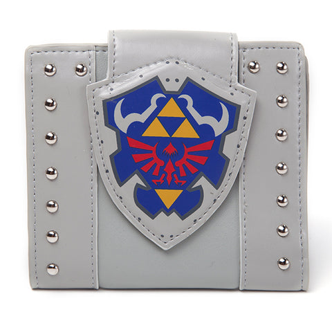The Legend of Zelda Hylian Shield Fold Over Wallet