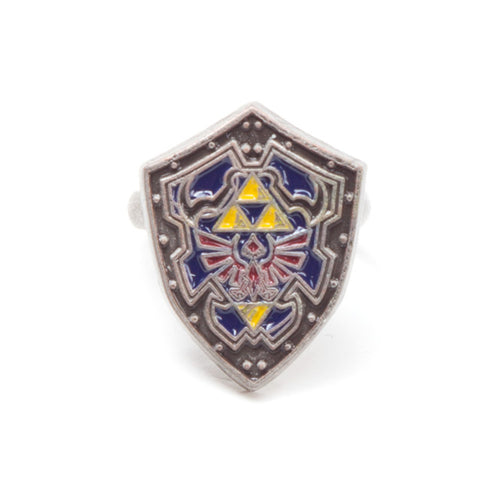 The Legend of Zelda Hylian Shield Clasp Ring