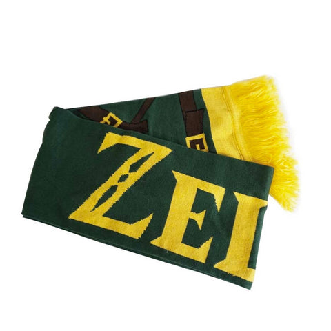 The Legend of Zelda Link Outfit Knitted Scarf