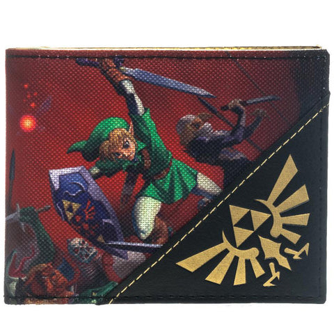 The Legend of Zelda Ocarina of Time Bi-Fold Wallet