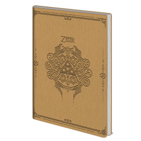 The Legend of Zelda Embossed A5 Flexi Cover Notebook
