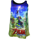 The Legend of Zelda Skyward Sword Ladies Vest Top