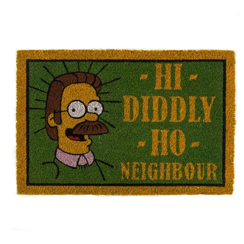 The Simpsons Ned Flanders Coir Doormat