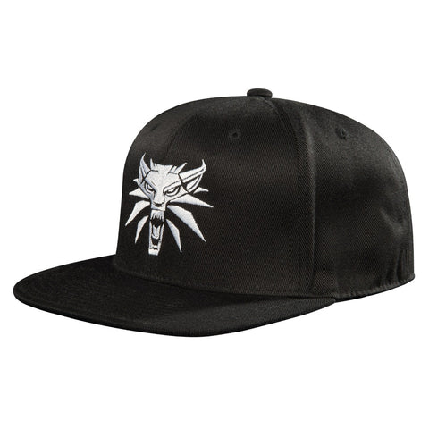 The Witcher Wolf Medallion Snapback Hat