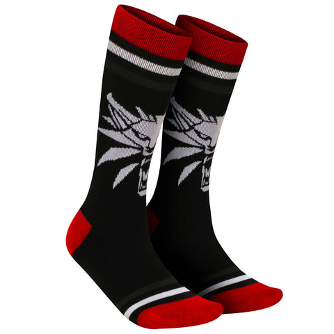 The Witcher White Wolf Mens Socks