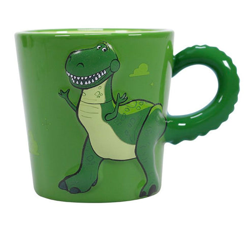 Disney Pixar Toy Story Rex Sculpted Mug