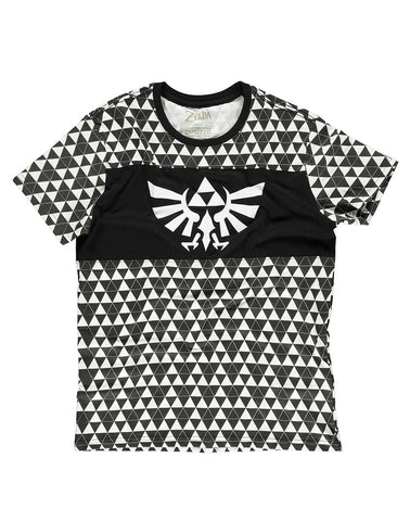 The Legend of Zelda Triforce Checker Men's T-shirt