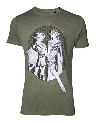 The Legend of Zelda Link & Princess Zelda Unisex T-shirt