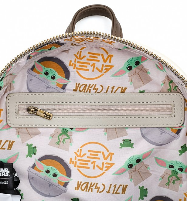 Loungefly x Star Wars The Mandalorian Baby Yoda The Child Mini Backpack