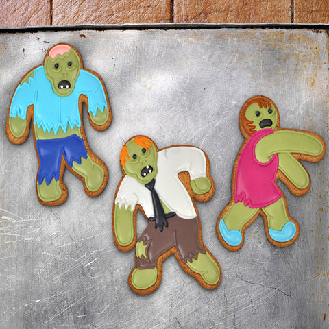 Undead Zombie Cookie Cutters