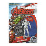 Metal Earth DIY 3D Model Marvel Avengers War Machine