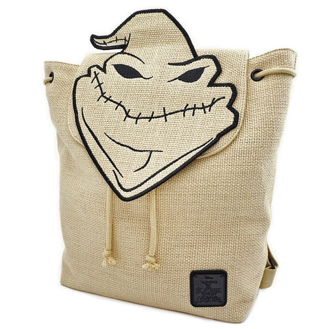 Loungefly X The Nightmare Before Christmas Oogie Boogie Burlap Backpack