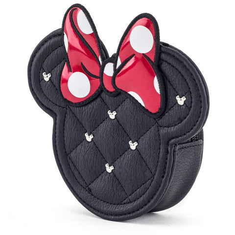 Loungefly x Minnie Mouse Quilted Coin Purse