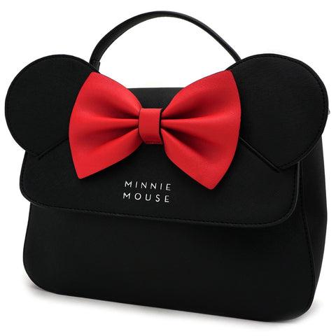 Loungefly x Minnie Mouse Ears & Bow Crossbody Handbag