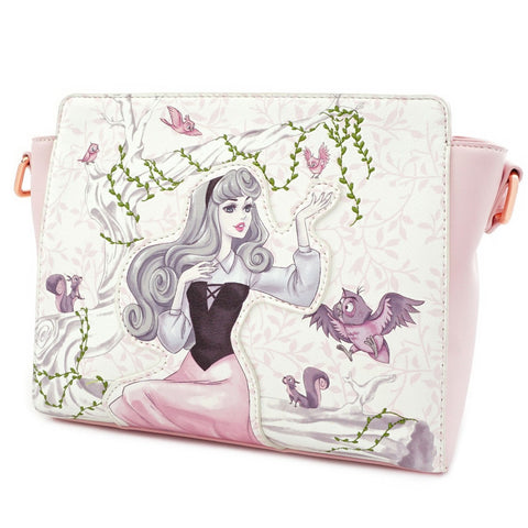 Loungefly x Sleeping Beauty Briar Rose Handbag