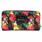Loungefly x Disney Beauty and the Beast Belle Roses Purse