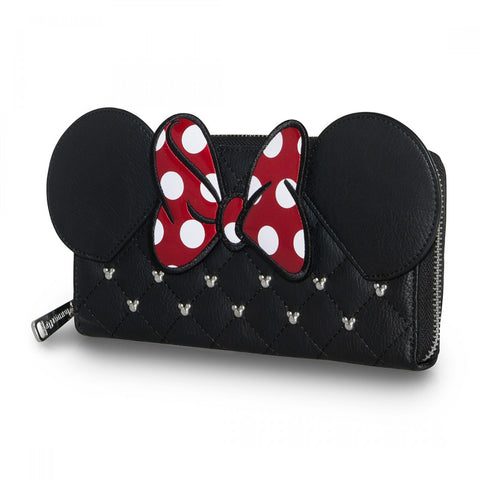 Loungefly x Minnie Mouse Quilted Bow Purse