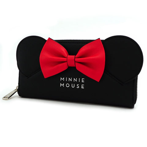 Loungefly x Minnie Mouse Ears & Bow Purse
