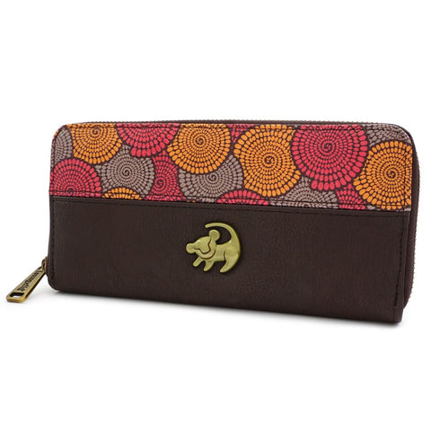 Loungefly x Lion King African Floral Print Purse