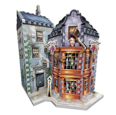 Harry Potter Diagon Alley Collection Weasleys' Wizard Wheezes 3D Puzzle