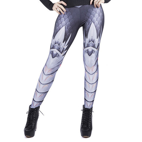Black Dragon Leggings by Wild Bangarang
