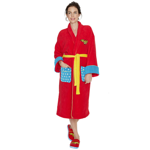 Wonder Woman Classic Bath Robe
