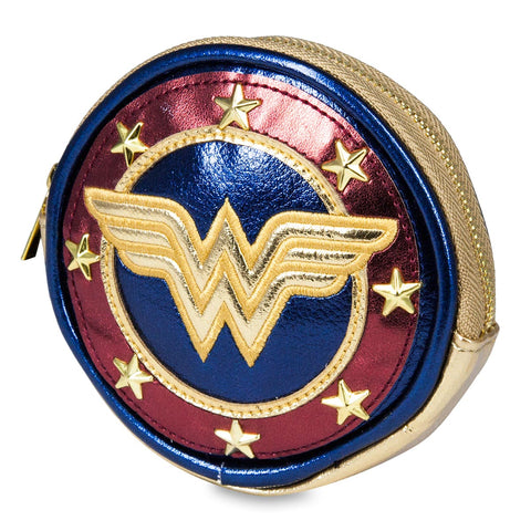 Wonder Woman Shield Coin Purse