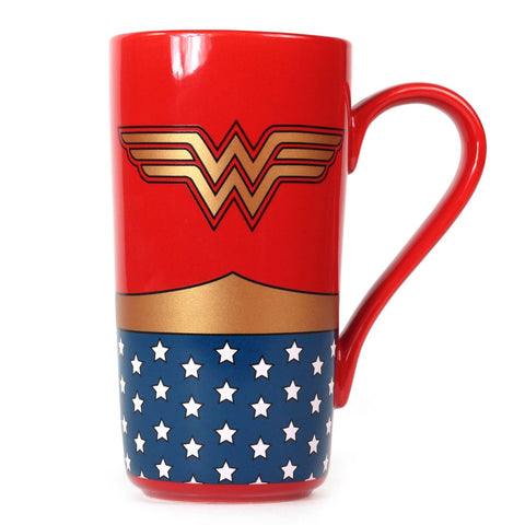 DC Comics Wonder Woman Costume Latte Mug
