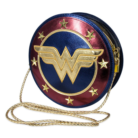 Wonder Woman Shield Cross Body Handbag