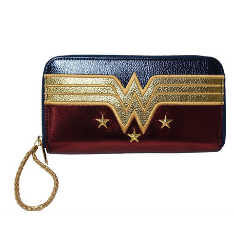 Wonder Woman Costume Zip-Up Purse