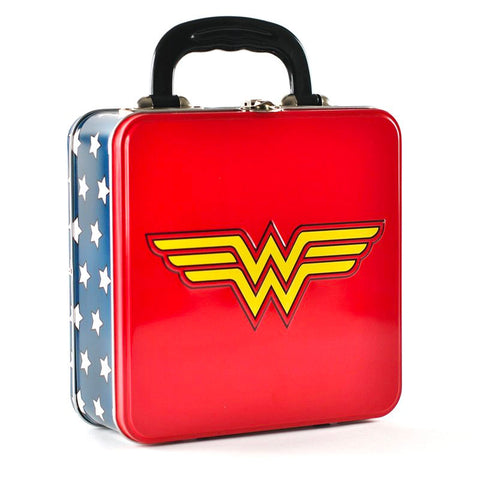 DC Comics Wonder Woman Embossed Tin Tote