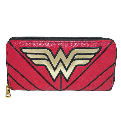 Wonder Woman Zip-Around Purse