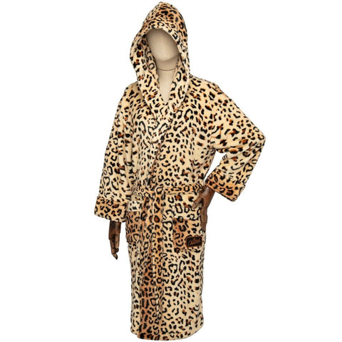 Wonder Woman 1984 Cheetah Bathrobe with Hood