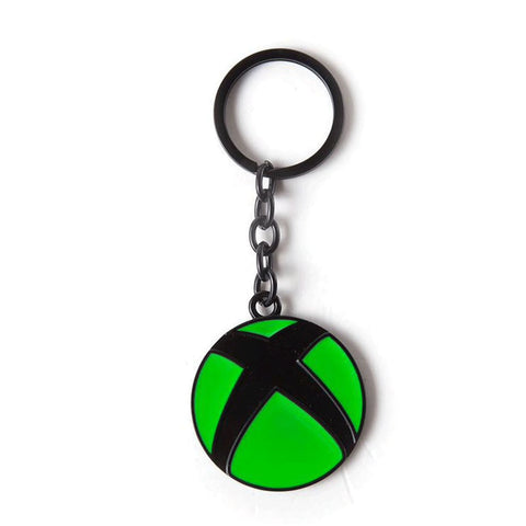 Xbox Logo Metal Key Ring