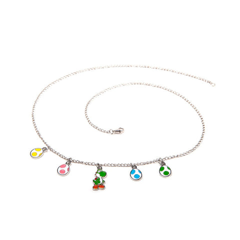 Super Mario Bros. Yoshi & Eggs Necklace