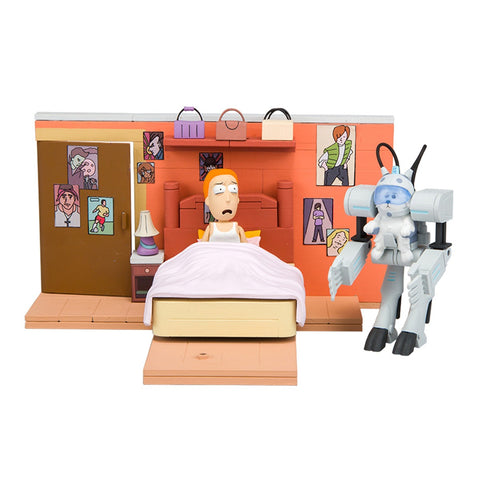 "Rick and Morty ""You Shall Now Call Me Snowball"" Construction Set"