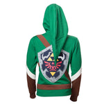 Legend of Zelda - Girl's Link Cosplay Hoodie