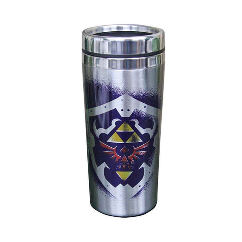 The Legend of Zelda Hylian Shield Premium Travel Mug