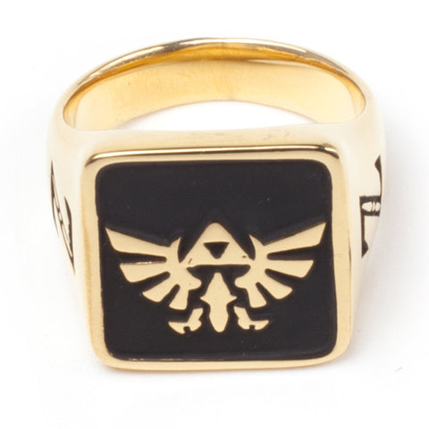 The Legend of Zelda Wingcrest Golden Signet Ring